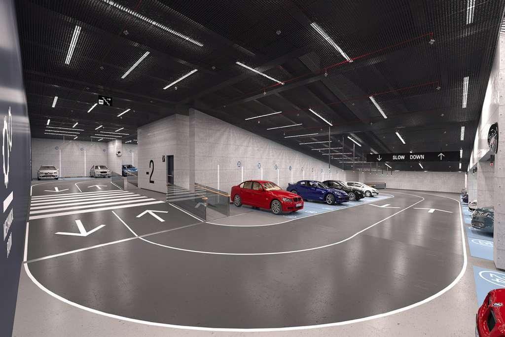 پارکینگ پروژه ستاره سرو